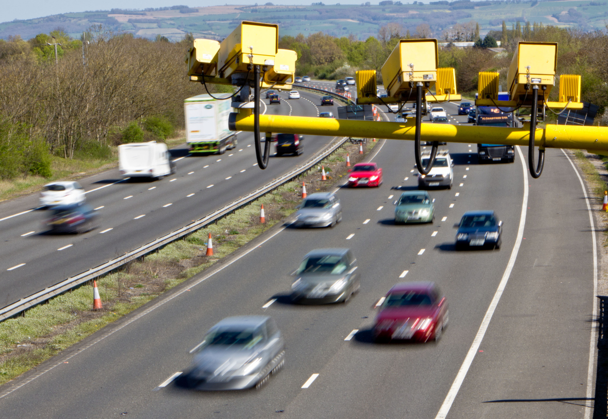 Average Speed Cameras on UK Motorways